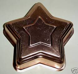 The Lucy Show Props Lucyand039s Copper Star Gelatin Mold Kitchen Tv Classic