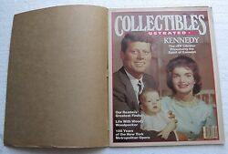 1983 Collectibles Illustrated Magazine Cover Senator And Mrs. John F. Kennedy