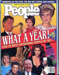 People Magazine December 28 1992-january 4 1993 What A Year Ex 080616jhe