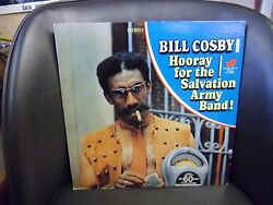 Bill Cosby Sings Hooray For The Salvation Army Band Vg+ Warner Brothers Lp