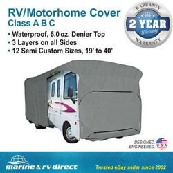 Waterproof Rv Cover Motorhome Camper Travel Trailer 37and039 38and039 39and039 Class A B C