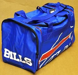 Buffalo Bills Duffle Bag Gym Swimming Carry On Travel Luggage Tote New