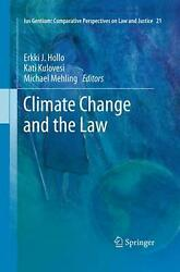 Climate Change and the Law (English) Paperback Book Free Shipping!