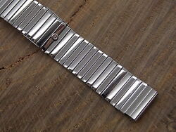 Extra Thin Stainless Steel Watch Band Gemex 16m 5/8 In With Hidden Clasp 6 Inch