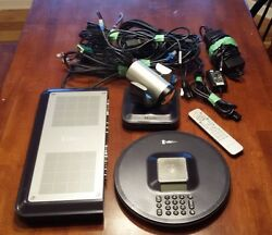 Lifesize Room Conferencing Video System W/ Camera Cables Remote Mic Lfz-001