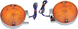 Drag Specialties Replacement Touring Rear Turn Signals - Chrome 2020-0592