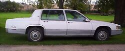 90 Cadillac Sedan Deville Being Parted Many Parts--check This Out--