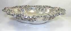 Gorham Sterling Silver Round Bowl Hollowware Grapes Pattern Number 222