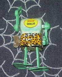 Marx Son Of Garloo Tin Litho Wind Up Robot 1960's Works No Head Japan