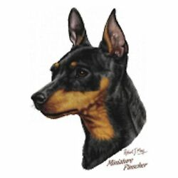 Minature Pinscher Robert May T Shirt Pick Your Size Youth Medium To 6 X Large