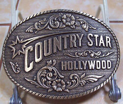AWARD DESIGN MEDALS PRESENTS COUNTRY STAR HOLLYWOOD [752]