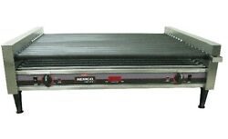 Nemco 8050sx-slt-rc Roll-a-grill Slanted Hot Dog Grill - 50 Hot Dogs-1000 Per Hr