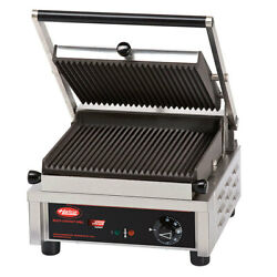 Hatco Mcg10g-120-qs 10 Single Multi Contact Grill Grooved Plate 120v