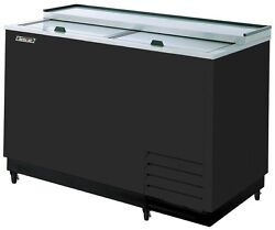 Turbo Air 50 Glass Chiller And Froster W/ Black Exterior - 14.49 Cuft