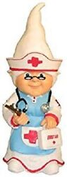 Nurse Thematic Garden Gnome Medical School Hospital Office New 11 - Great Gift