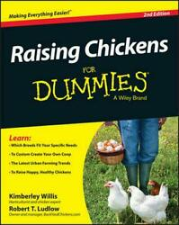 Raising Chickens for Dummies by Kimberly Willis (English) Paperback Book Free Sh