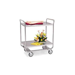 Lakeside 243 36wx22dx40-5/8h Stainless Steel Utility Cart