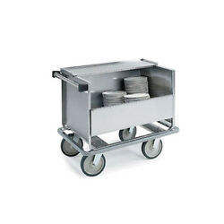 Lakeside 707 39-1/2x24x31-1/2 Stainless Steel Store N Carry Dish Truck