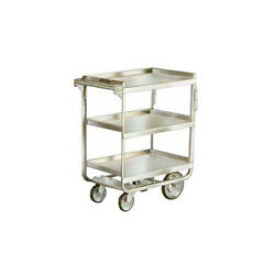 Lakeside 511 16-1/4x30x34-1/4 Stainless Steel Welded Utility Cart