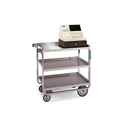 Lakeside 544 22-3/8x38-5/8x37-1/8 Stainless Steel Welded Utility Cart
