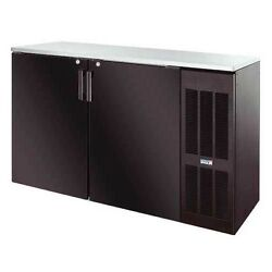 Krowne Metal Bs60r 60 Back Bar Cabinet W/ Right Self-contained Refrgeration