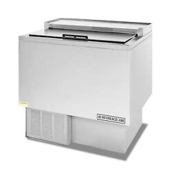 Beverage-air Gf34hc-s 6.6 Cuft Flat Top Glass And Plate Froster W/ S/s Finish