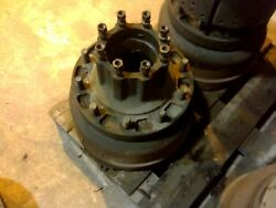 Rear Tandem Hub And Drum Assembly Used On Oshkosh M911 C-het 8x6 Tractor