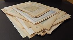 Antique, Vintage Maps, United States, Europe, Over 120 Old Maps M12