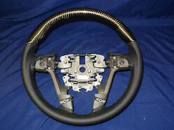 Holden Ve Commodore Ss Carbon Fibre Steering Wheels Assorted Black Red Wood