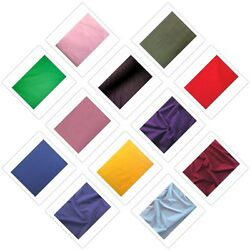 60quot; INCH COTTON POLYESTER BROADCLOTH QUILTING SHEETS FABRIC BY THE YARD $4.95