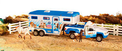 Breyer Horse 5352 Stablemates Animal Rescue Truck and Trailer