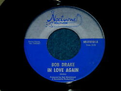 Bob Drake In Love Again 45 Nocturne Hollywood 818101 @ 1960s Pop Psych