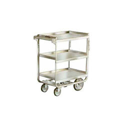 Lakeside 711 16-1/4x30x34-1/4 Stainless Steel Welded Utility Cart