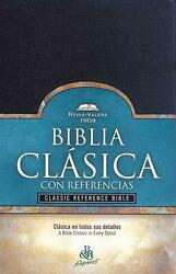 Classic Reference Bible-rv 1909 Spanish Imitation Leather Book Free Shipping