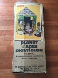 Vintage Coleco 1975 Planet Of The Apes Playhouse 5 Feet Tall Super Rare Wow Look