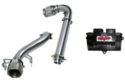 Evo Cat Bypass/race Straight Pipe Exhaust Stage 3 Ecu Tune Can-am Maverick X3