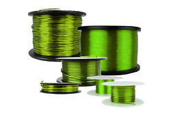 Temco Magnet Wire 18 To 40 Awg Gauge Enameled Copper 155c Arts And Crafts Green