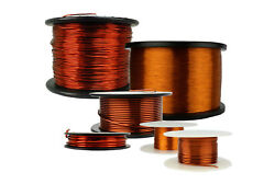 Temco Magnet Wire 8 To 32 Awg Gauge Enameled Copper 200c Arts And Crafts