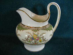 Minton Chatham Green Pattern Number S123 Creamer