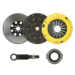 CLUTCHXPERTS STAGE 2 CLUTCH+FLYWHEEL KIT Fits 2002-2005 HONDA CIVIC Si 5SPD