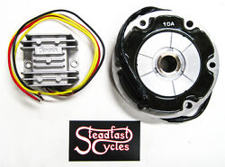 Stator Charging System Regulator Rectifier Single Phase 2 Yellow Wires