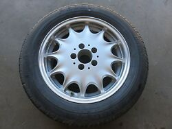 96-98 MERCEDES-BENZ R129 SL500 SL320 SL600 WHEEL RIM WITH TIRE 5 BOLT 8Jx16