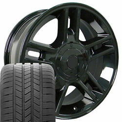 Oew Fits 20x9 Black F150 Wheels And Goodyear Tires 20 Rims Ford