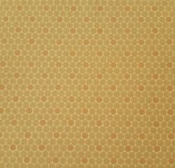 Polka Dot BTY Faye Burgos Marcus Brothers Golden Tan Brown 100% Cotton Fabric