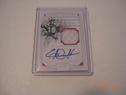 Eric Dickerson Smu 16 National Treasures Game Used Jersey Auto 21/25 Signed Card
