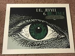 Dr Jekyll And Mr. Hyde Qfschris Art Movie Print Poster Mondo Universal Monsters