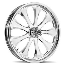 Dna Lust Chrome Forged Billet 19 X 2.15 Front Wheel Harley Dyna Softail