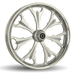 Dna Beast Chrome Forged Billet Wheel 18 X 5.5 Rear Harley 2009+ Touring