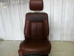 11 12 13 14 FORD F150 KING RANCH LEAHTER RIGHT PASSENGER FRONT BUCKET SEAT