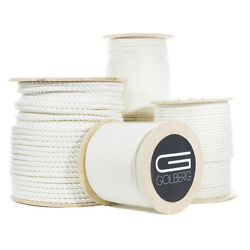 Golberg Twisted Nylon Rope - Premium Usa Made - Many Sizes And Lengths Available